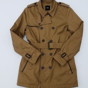 ASOS double breasted short trench coat